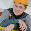 Stock Photo: Happy electriciworker