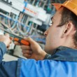 Electrician engineer worker — Stock Photo #41165713