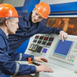Engineers at control panel — Stock Photo #42662963