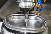 Industrial metrology probe tool work — Foto de Stock