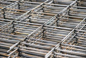 Metal reinforcement background — Stock Photo