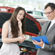 Car selling or auto buying — Stock Photo #43256151