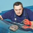 Windscreen repair — Stock Photo