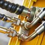Hydraulics of machinery — Stock Photo #44958597