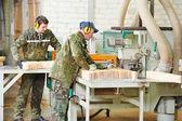Produkcji przetwórstwa drewna — Zdjęcie stockowe