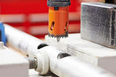 Drilling by bore — Stock Photo