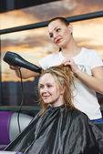 Hairdresser at work — Stock Photo