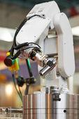 Robotics. manipulator arm with detail — Stock Photo