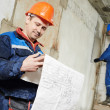 Two electrician workers — Stock Photo #46980929