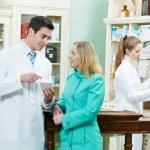 Medical pharmacy drug purchase — Stock Photo #9539651