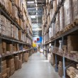 Stock Photo: Warehouse with goods in retail merchandise shop