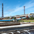 Stock Photo: Sewage treatment plant in summer sunny day