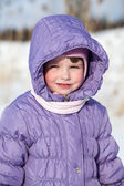 WInter child — Stok fotoğraf