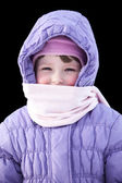 Winter child — Foto Stock