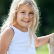 Beautiful little girl, summer day — Stock Photo #29474067