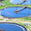 Sedimentation tanks — Stock Photo