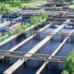 Sewage treatment plant — Stock Photo #31207351