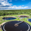 Stock Photo: Sewage treatment