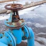 ������, ������: Blue valve gate