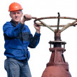 Senior workman — Stock Photo