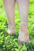 Vackra fötter — Stockfoto