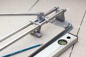 Instruments for tile marking — Foto de Stock