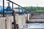 Sewage water — Stock Photo