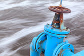 View of gate valve — Stock Photo