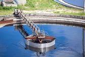 Wastewater treatment — Stock Photo