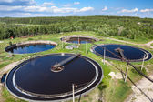 Sewage treatment — Stock Photo