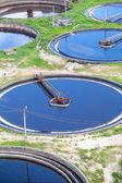 Sewage treatment — Стоковое фото