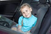 Small Caucasian girl — Stock Photo