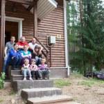 Large Caucasian family — Stock Photo #35157647