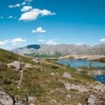 Khibiny mountain landscape — Stock Photo