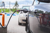 Refilling the car — Stock Photo