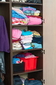 Color clothes — Stock Photo