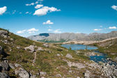 Khibiny mountain landscape — Stock Photo