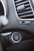 Button automatically start the engine — Stock Photo