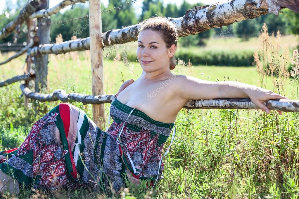 Трахают русскую деревенскую бабу 157