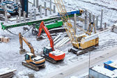Special construction machinery — Stock Photo