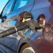 Car refuel in gas station — Stock Photo #40508765