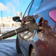 Car refuel in gas station — Stock Photo #40508853