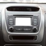 Car multimedia system — Stock Photo