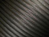Steel wire closeup — Stock Photo