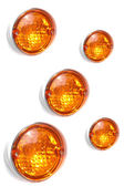 Rear car lights — Stock Photo