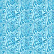 Royalty-Free Stock Immagine Vettoriale: Seamless pattern with abstract waves. Vector
