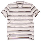 Men's t-shirt isolated on white background. — Stock Photo