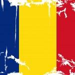 Romanian grunge flag. Vector illustration — Stock Vector #48492301