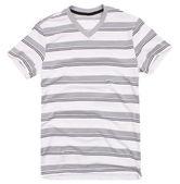 メンズ t シャツ ホワイト バック グラウンドの分離. — ストック写真