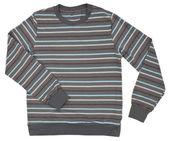 Suéter listrado para crianças isolado no branco — Foto Stock